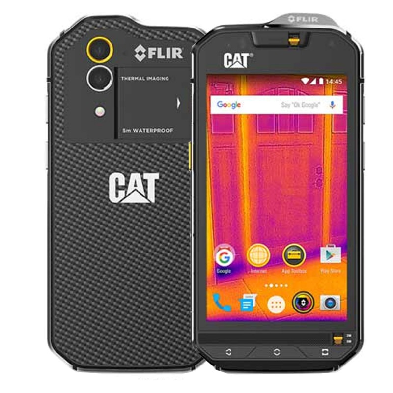 Smartphone Caterpillar S60 DS 3/32GB 4.7 13MP/5MP A6.0 (BR) - Negro