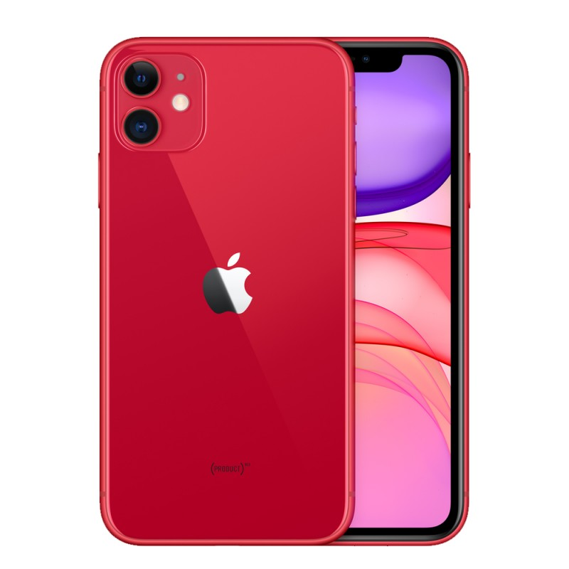 "Apple IPhone 11 A2221/LZ 64GB Pantalla 6.1"" Red"