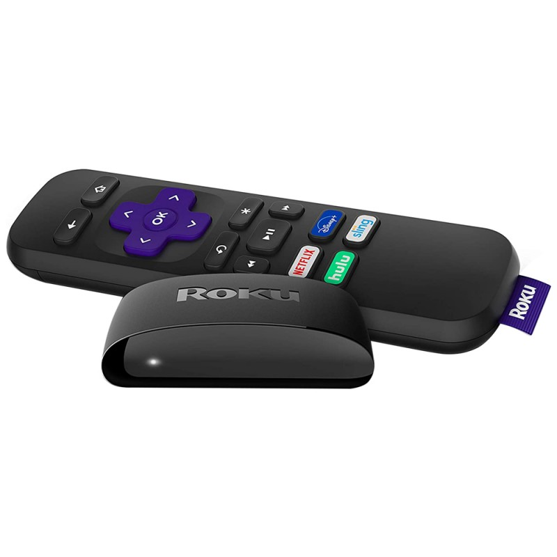 Adaptador de Streaming Roku Express 3930R Full HD ...