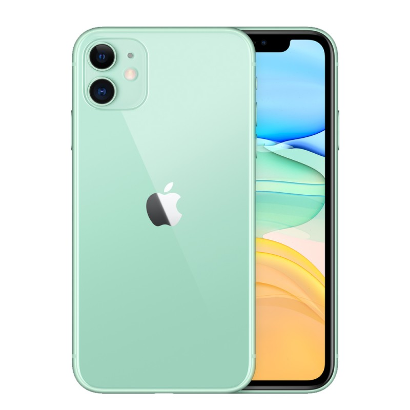 "Apple IPhone 11 A2221/LZ 64GB Pantalla 6.1"" Green"