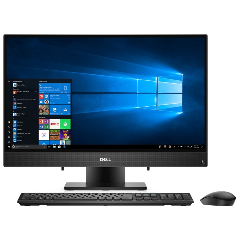 All-in-One Dell Inspiron 24 i3480-3394BLK-PUS con ...