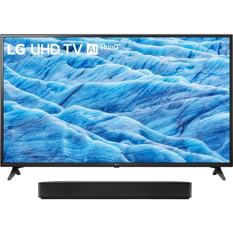 "Smart TV LED LG 55"" 55UN7310 4K + Sound Bar L..."